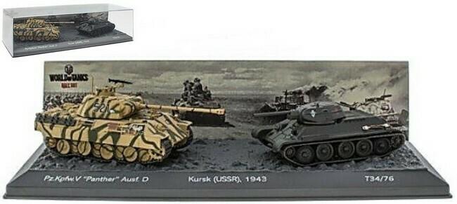 Pz.Kpfw. V Panther Ausf. D versus T34 /76