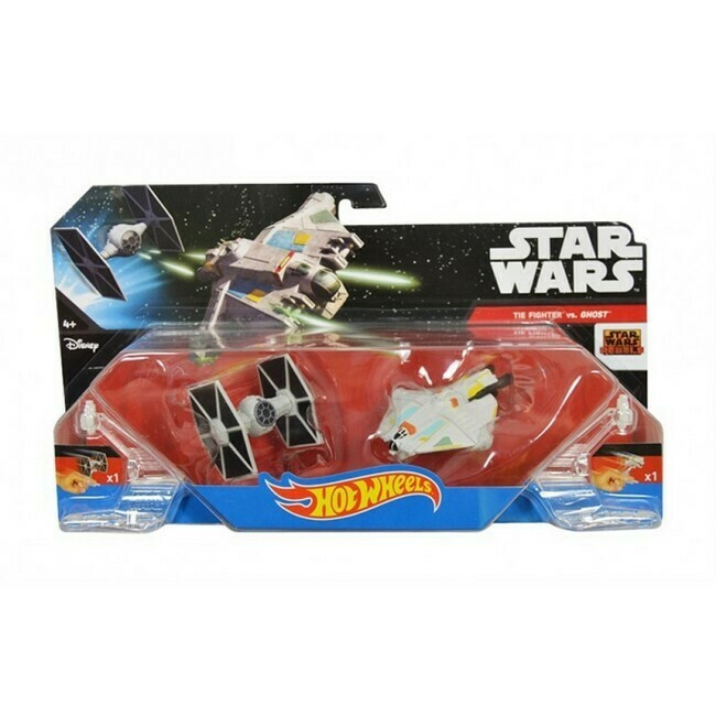 Star Wars  -  Tie Fighter versus Ghost