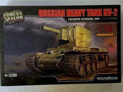 Russian Tank KV-2 (modelbouw)