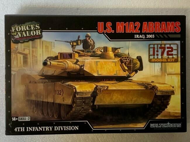 M1A2 Abrams  (modelbouw)