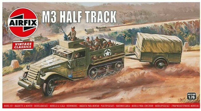 M3 Half Track (modelbouw)