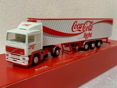 Volvo F12 met trailer Coca Cola