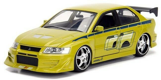 Fast & Furious  -  Mitsubishi Lancer Evo VII