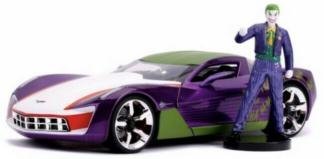 Batman - Chevrolet Corvette + The Joker