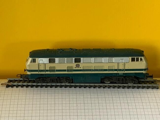 Lima H0 - 205136 - Diesel hydraulic Locomotief BR 218 218-6