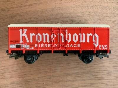 Jouef  Gesloten goederen wagon Kronenbourg