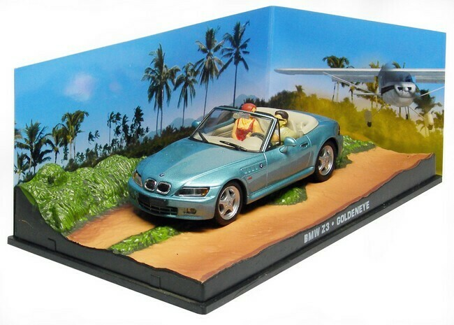 James Bond  -  BMW Z3
