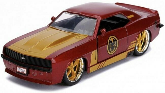 Avengers  -  Chevrolet Camaro  -  Ironman