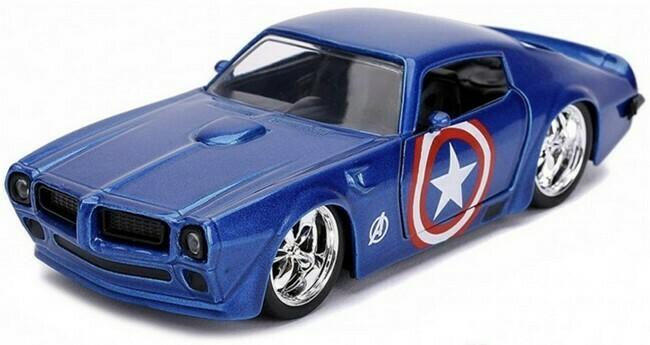 Avengers  -   Pontiac Firebird 'Captain America'