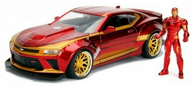 Iron Man  -  Chevrolet Camaro