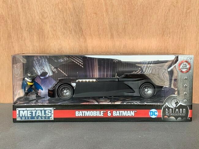 Batman - Batmobile Animated