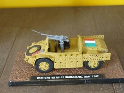 Camionetta AS 42 Sahariana.