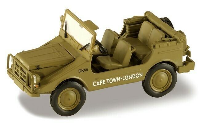 DKW Munga 4 Capetown