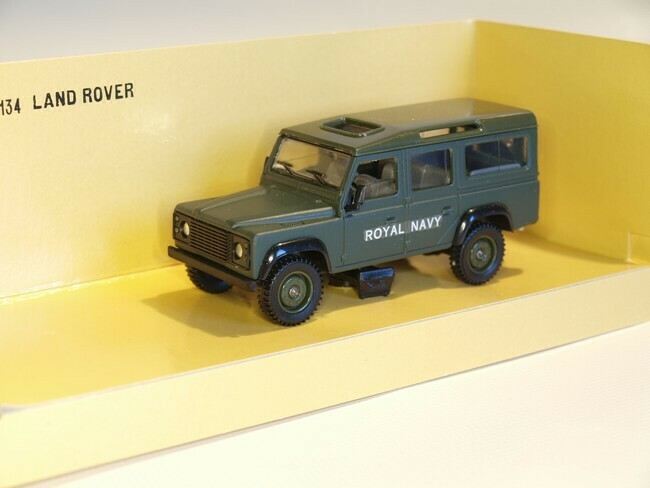Land Rover Royal Navy