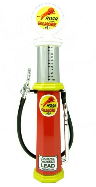 Benzinepomp met kijkglas Gilmore