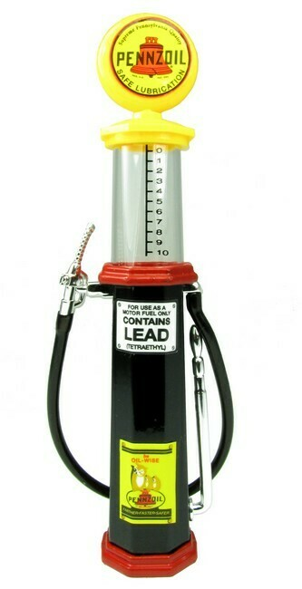 Benzinepomp met kijkglas Penzoil