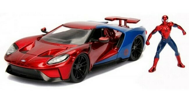 Spiderman  -  Ford GT