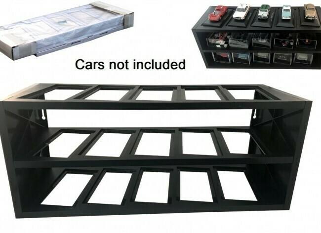 Plastic Display Stand voor 1:43 modelauto's