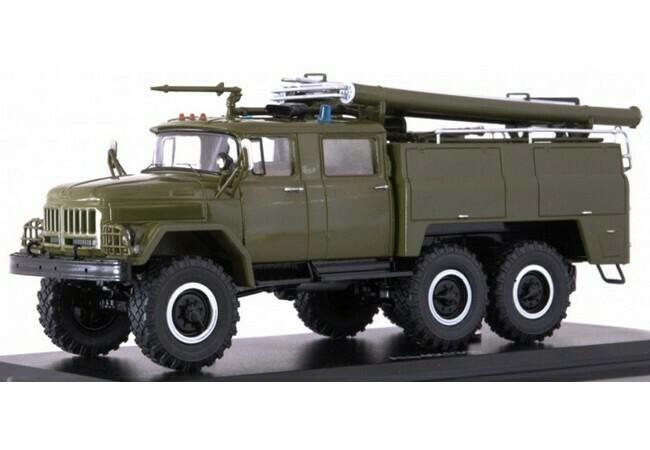 Zil 131 Militaire Brandweer AC-40