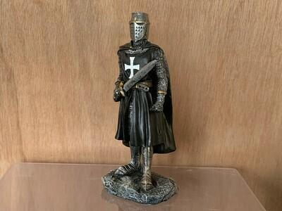 Zwarte Ridder met zwaard