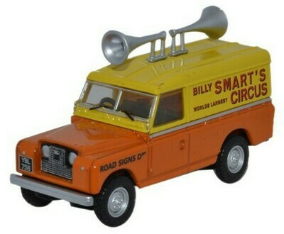 Land Rover 88 Billy Smart Circus