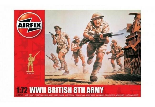 WW II British 8th Army