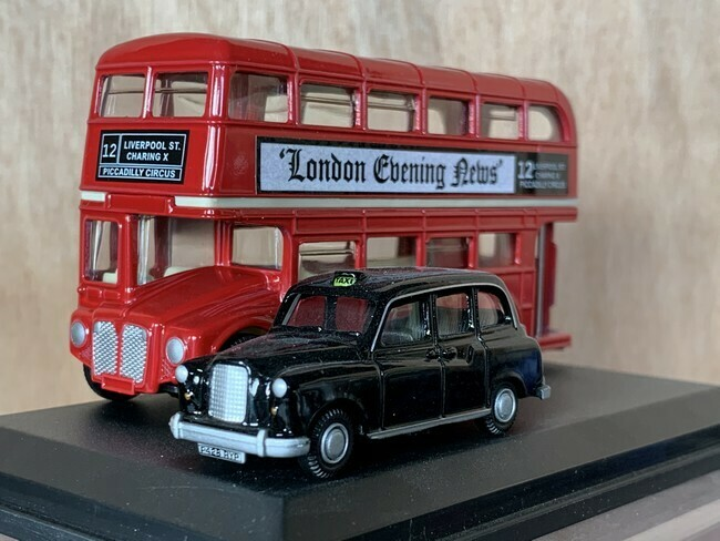 AEC Routemaster London Bus & Taxi