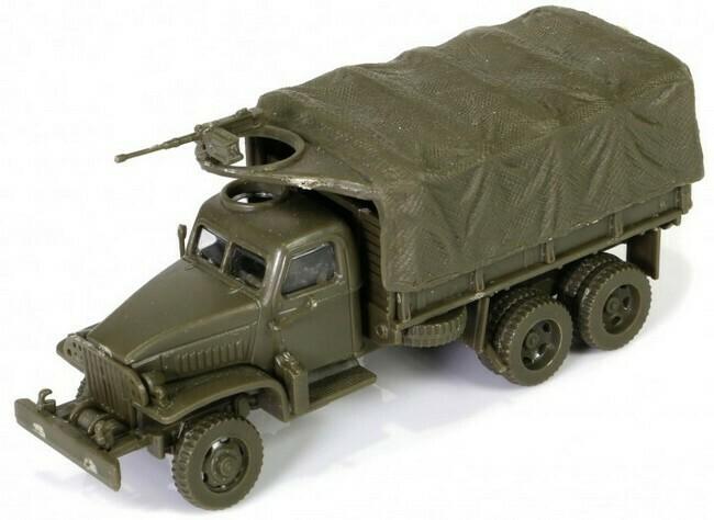 GMC 2.5 Ton Cargo Truck (modelbouw)
