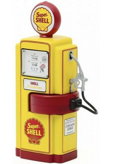 Wayne 100-A Gas Pump Super Shell 1948