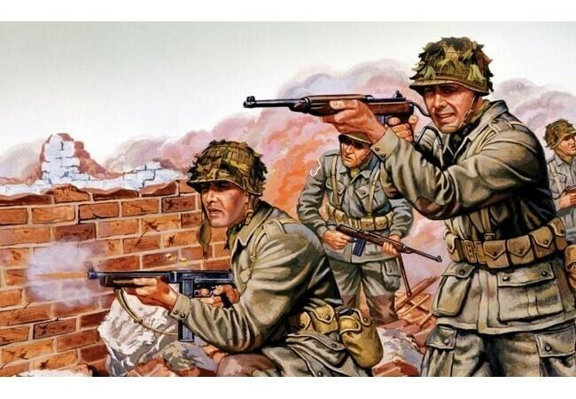 WW II US Paratroops