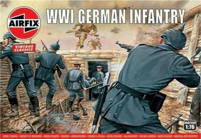 WW I - German Infantry