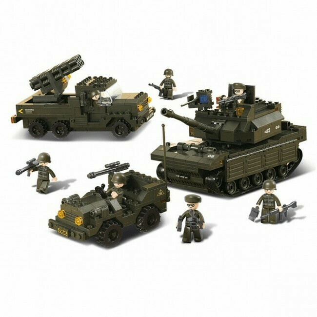 Landmacht Leger set (B6800)