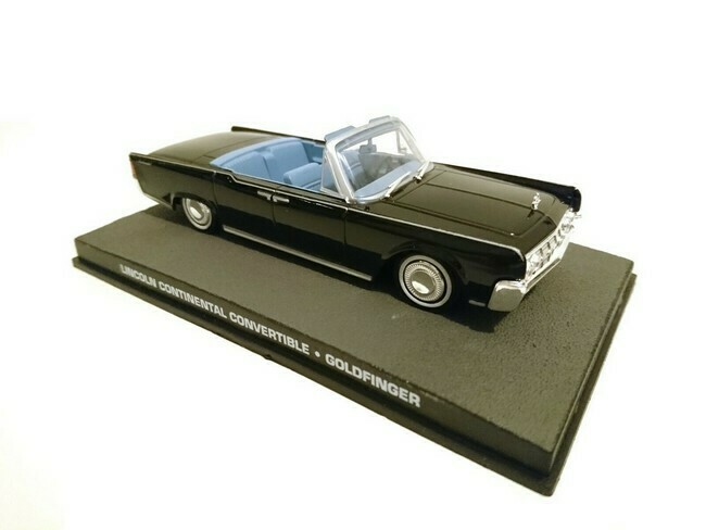 James Bond  -  Lincoln Continental