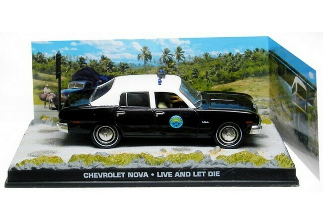 James Bond  -  Chevrolet Nova