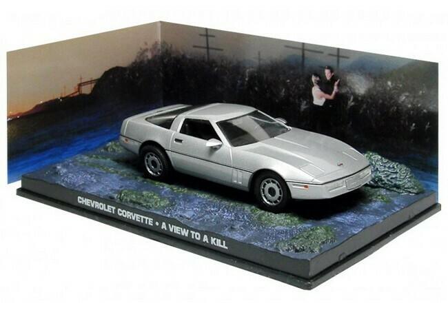 James Bond  -  Chevrolet Corvette