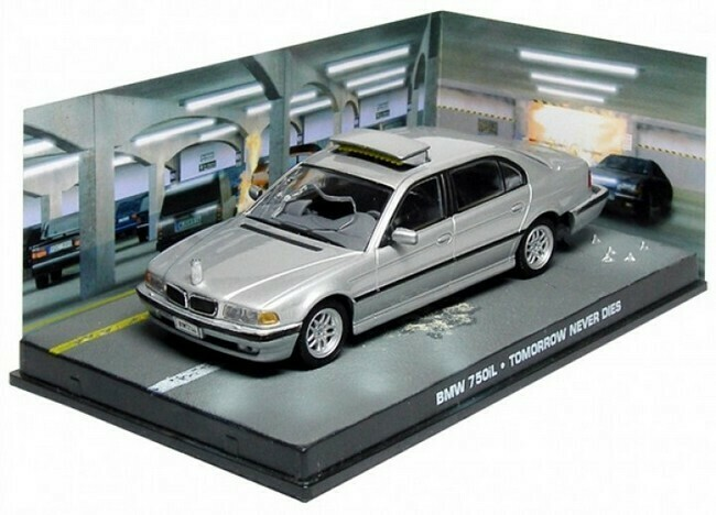 James Bond  -  BMW 750i