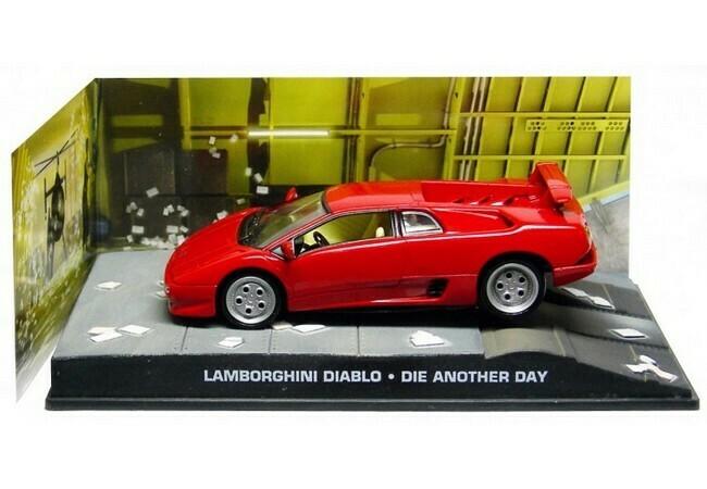 James Bond  -  Lamborghini Diablo