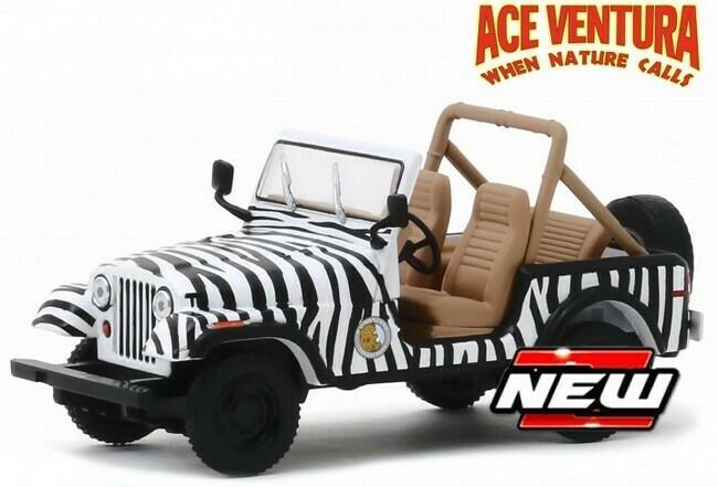 Ace Ventura  - Jeep CJ-7