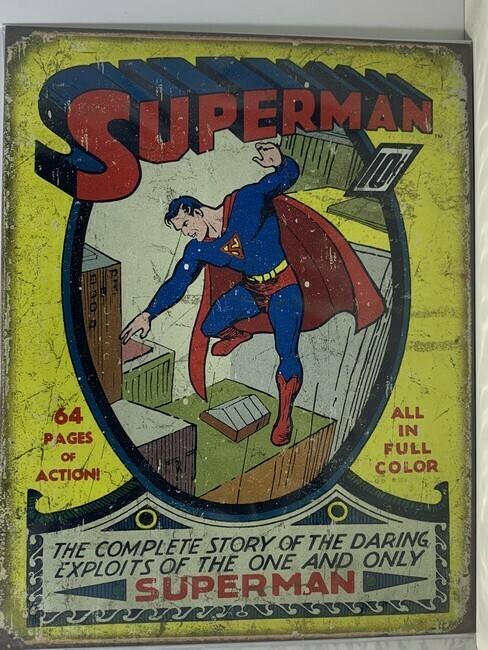 Superman nummer 1 cover