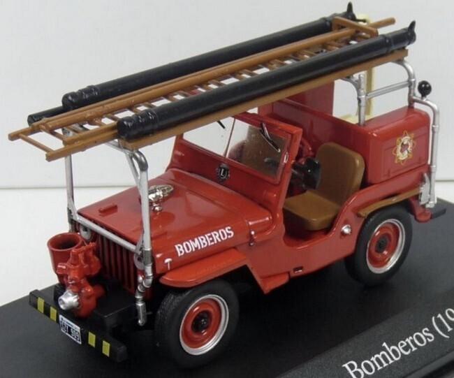 Jeep CJ2A Brandweer