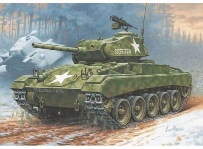 M24 Chaffee (Modelbouw)