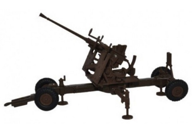 Bofors 40mm Gun Brown