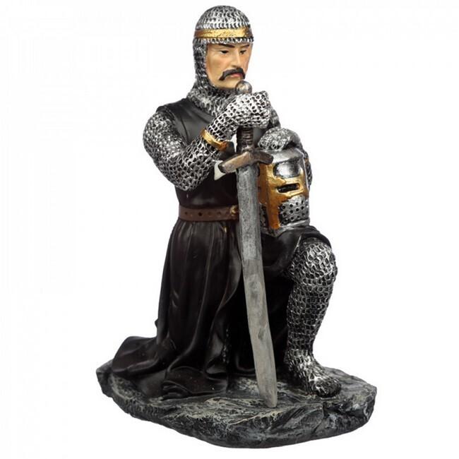 Geknielde ridder eedaflegging