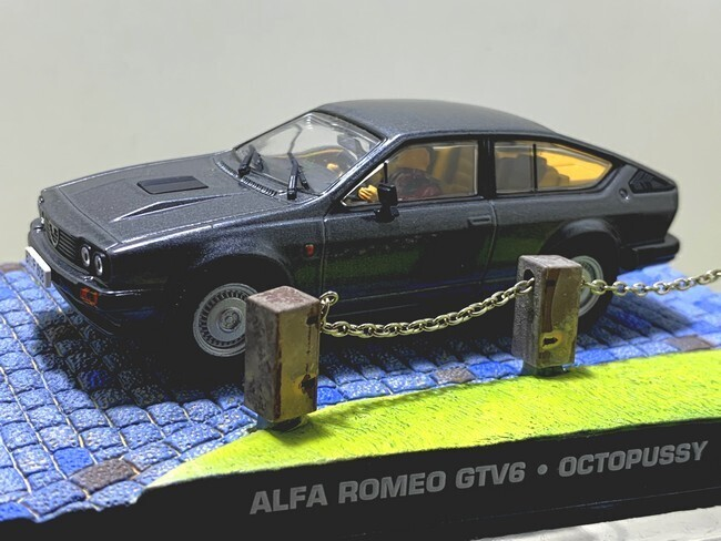James Bond  -  Alfa Romeo