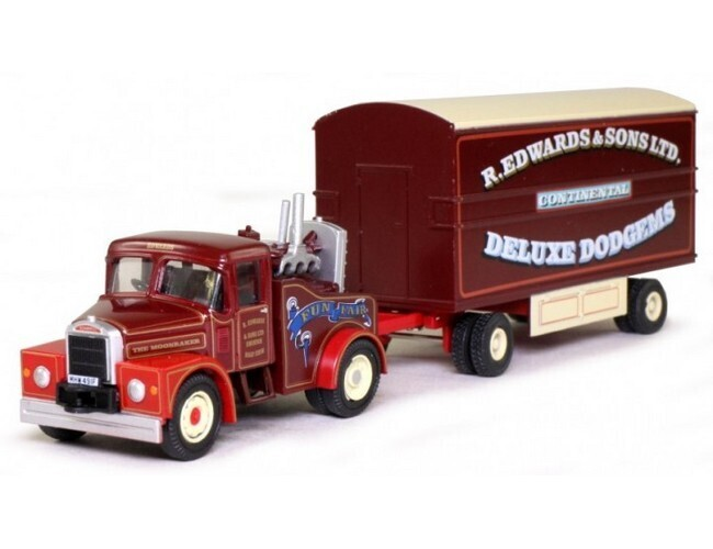 Scammell Highwayman Generator truck en Trailer