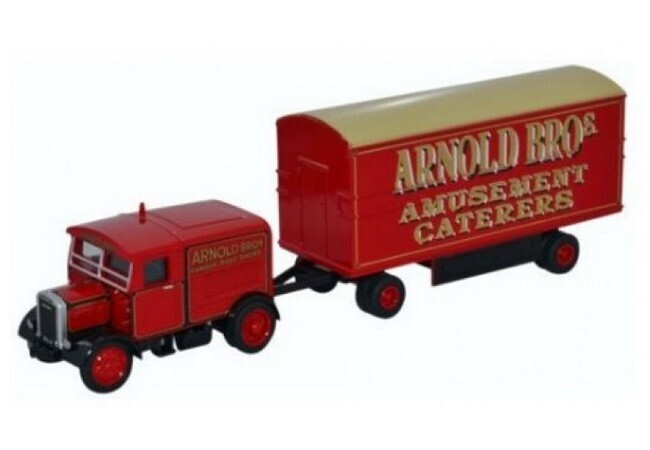 Scammell  Showtrac met trailer - Arnold Bros