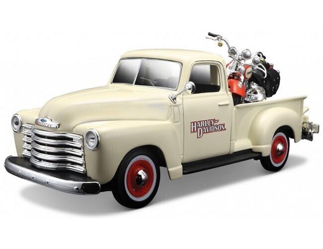 Chevrolet 3100 met Harley-Davidson
