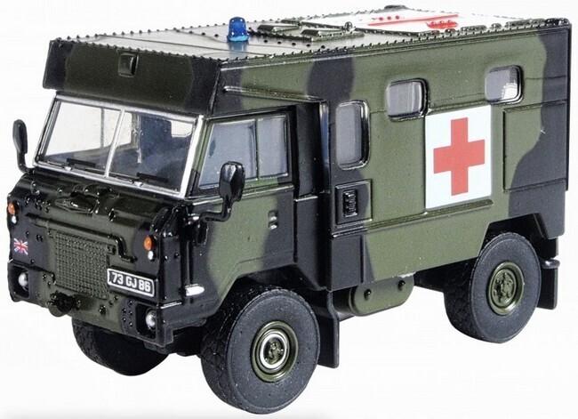 Land Rover FORWARD CONTROL BAOR
