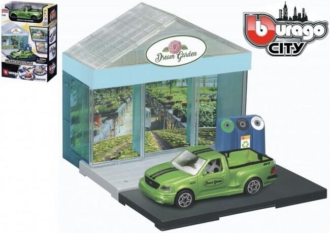 "Bburago City ""Tuincentrum"" + Ford SVT F-150"