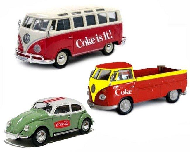 Volkswagens  set van 3